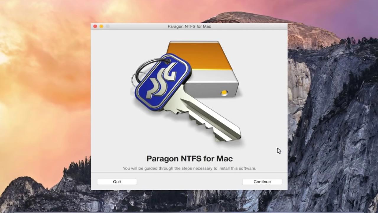 Seagate  NTFS Paragon Driver for Mac