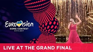 Anja - Where I Am (Denmark) LIVE at the Grand Final of the 2017 Eurovision Song Contest