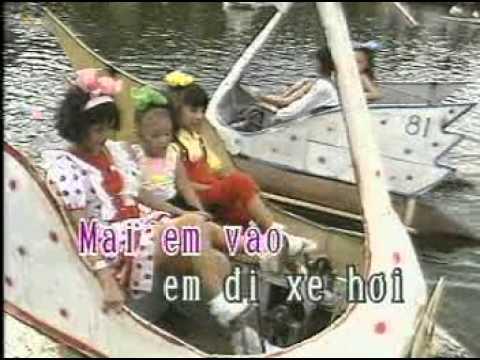 Karaoke thieu nhi - Em di choi thuyen