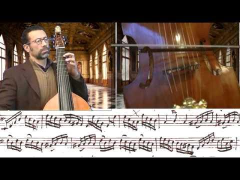 Solo in D-Major by Karl Friedrich Abel for Viola da Gamba
