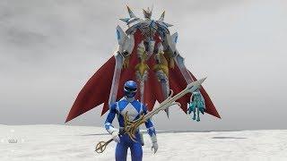 GTA 5 - 5 Anh em siêu nhân - Gao Xanh gặp thần Biển cả và đấu với quái vật khổng lồ|GHTG