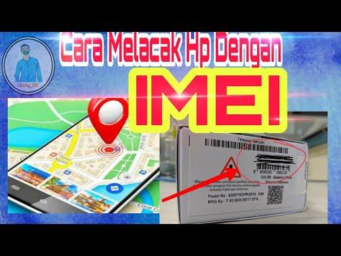 Cara melacak Hp hilang dengan IMEI, email, nomor telepon/ GPS yang dicuri maling dalam keadaan mati .
