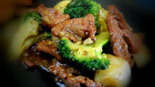 Beef Stir Fry With Broccoli & Oyster Sauce (Chinese Style Cooking Recipe)