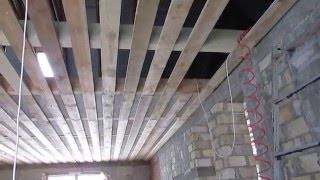 Как сделать теплое и бесшумное перекрытие между чердаком и жилым помещением