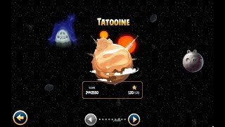 Angry Birds: Star Wars. TATOOINE (level 40) 3 stars  Прохождение от SAFa