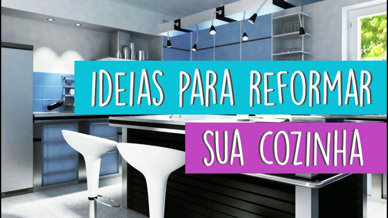 Reformando A Cozinha Fonte Leila Dionizios Arquitetura Reformar  ~ Ideias Para Reforma De Cozinha