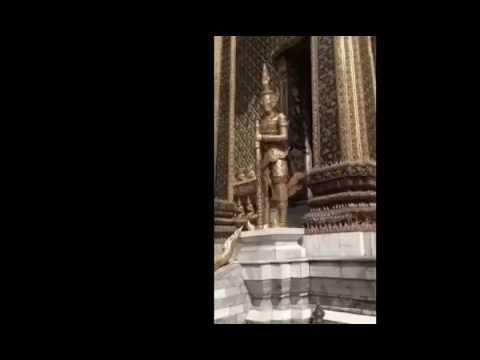 วัดพระแก้ว Wat Phra Kaew the Temple of the Emerald Buddha 2015