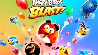 НОВИНКА: ANGRY BIRDS BLAST - ПРОХОЖДЕНИЕ ИГРЫ ЭНГРИ БЕРДС.ВИДЕО ДЛЯ ДЕТЕЙ
