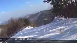 2014年12月30日(火) 芸北国際スキー場 カケズエリア ユートピアコース...