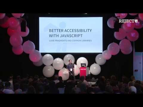 Better Accessibility with JavaScript