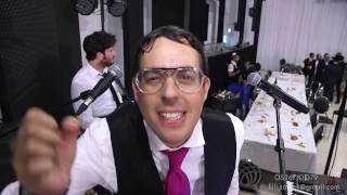 אריק דביר ושלמה כהן באנרגיה מטורפת בחתונה צילום אלי ויחיאל שדה