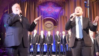 """Aneini/Tatte"" Live Accapella - Baruch Levine, Rivie Schwebel & Shir V'shevach Boys Choir"