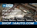 How To Install Replace Fuel Filter Chevy Malibu Cavalier Camaro more 1AAuto.com