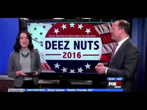 Trump Deez Nuts for US President 2016 - Dream Ticket Candidate