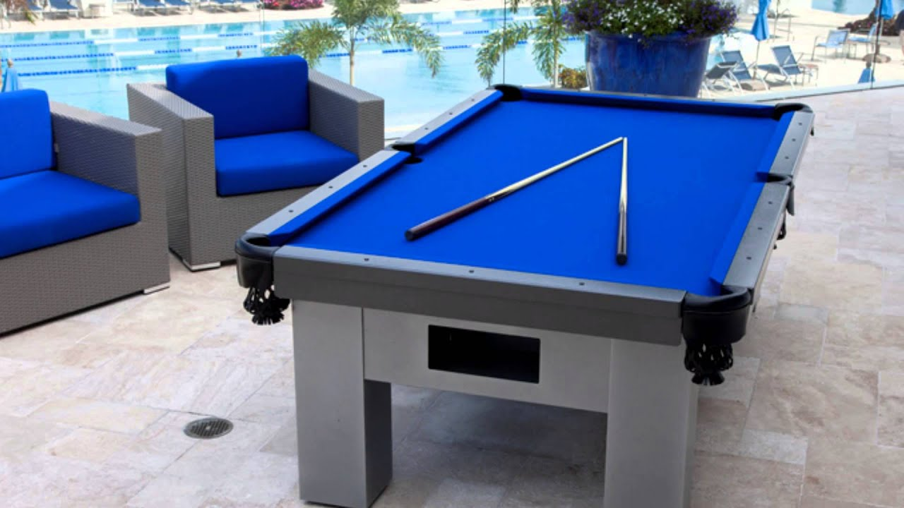 Country Club Gets Custom Outdoor Pool Table Youtube