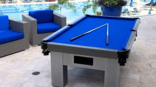 Country Club Gets Custom Outdoor Pool Table