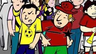 Unterwegs mit dem Münchner Kindl - Bitte haben Sie Geduld bei Sperrungen (Fußballspiel)