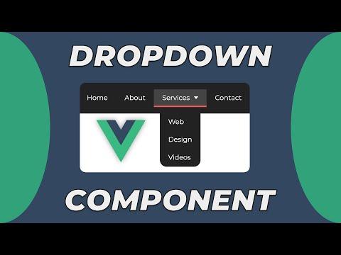 VueJS Dropdown Component | A VueJS Basics Tutorial