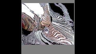 Fluid Acrylics, Blooper- Splooge ,Ribbon Pour Stripes # 3139-7.19.18