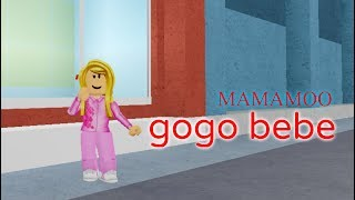 ROBLOX On Dance MAMAMOO | gogobebe Kpop dance Cover