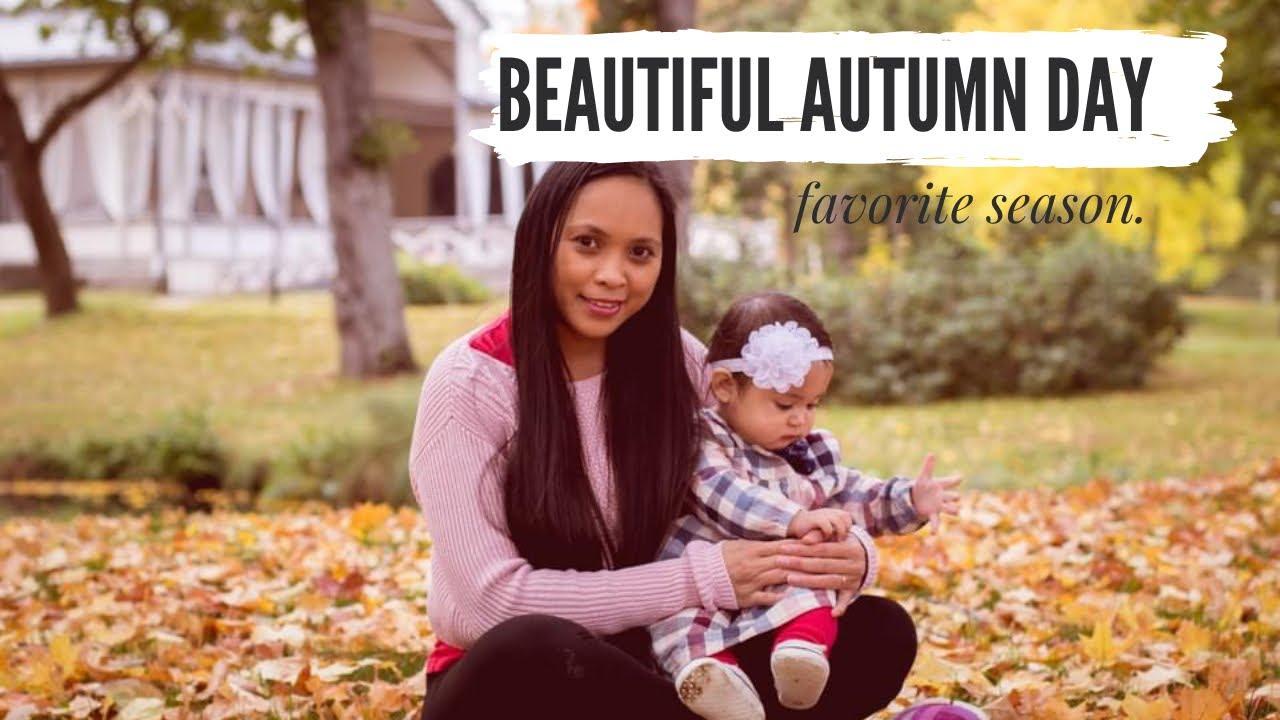 Baby S First Autumn Diy Fall Baby Photoshoot Meu Mea Youtube