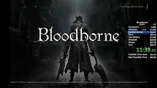 Bloodborne Any% Speedrun - 20:31 IGT