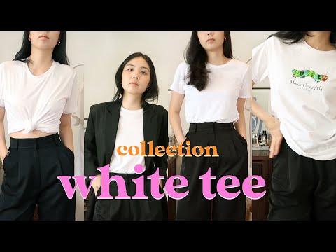 White Tee Collection 💖 เปิดกรุเสื้อยืดขาว 13 ตัว!! พร้อมบอกพิกัดช้อปราคาถูก