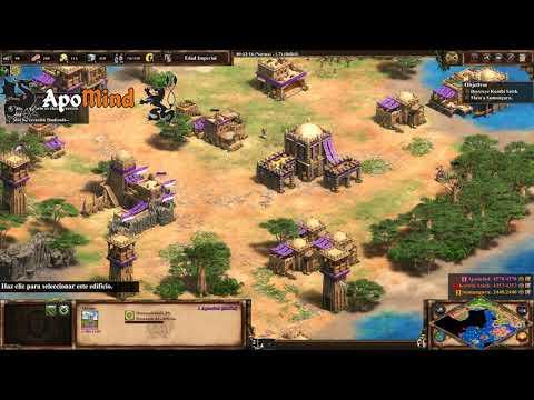 5. La Guarida Del León (difícil) Sundiata - Age Of Empires II: Definitive Edition