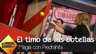 Luis Piedrahita descubre el timo de derribar botellas utilizando pelotas - El Hormiguero 3.0