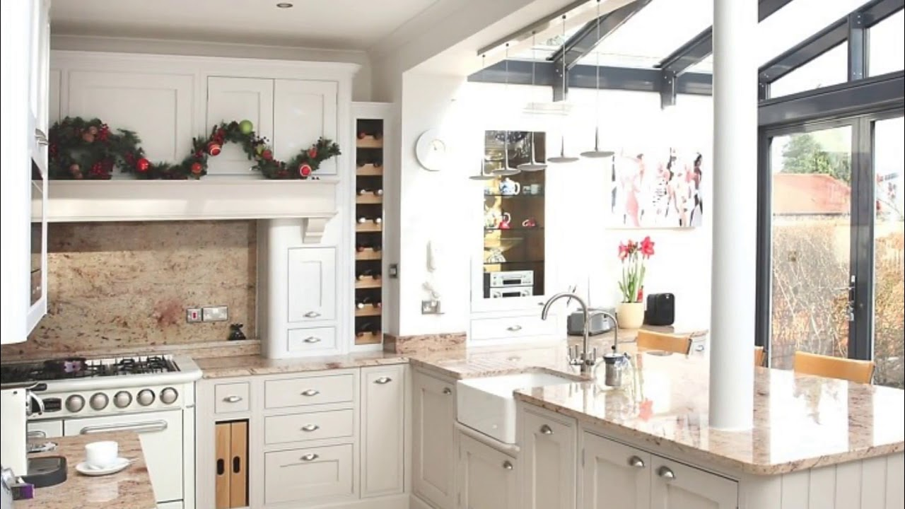 Conservatory Kitchen Extension Ideas - YouTube