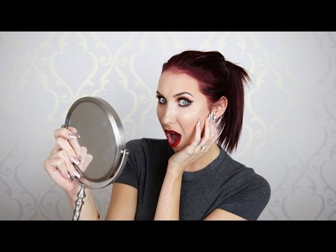 NO MIRROR MAKEUP CHALLENGE | Jaclyn Hill