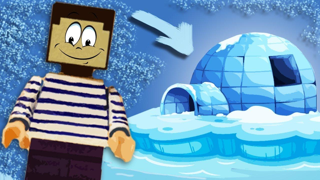 Домики ледяные своими руками фото 211