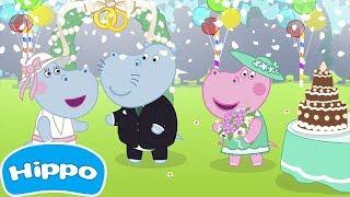 Гиппо 🌼 Свадебная вечеринка 🌼 Игра для девочек 🌼Мультики Промо-ролики трейлеры с Гиппо