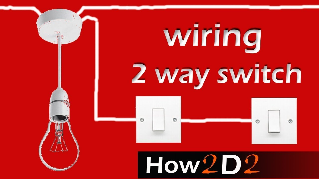 2 Way Light Switch Wiring Diagram Uk Hobbiesxstyle A How To Wire
