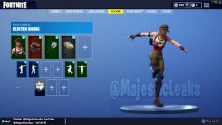 LEAKED *NEW* BULLSEYE SKIN showcase with LEAKED emote Fortnite Battle Royale