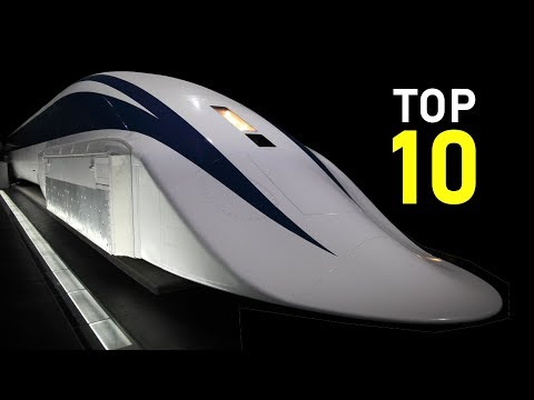 10 Fastest Trains in the World  |  Max speed 603 km/h (375 mph)