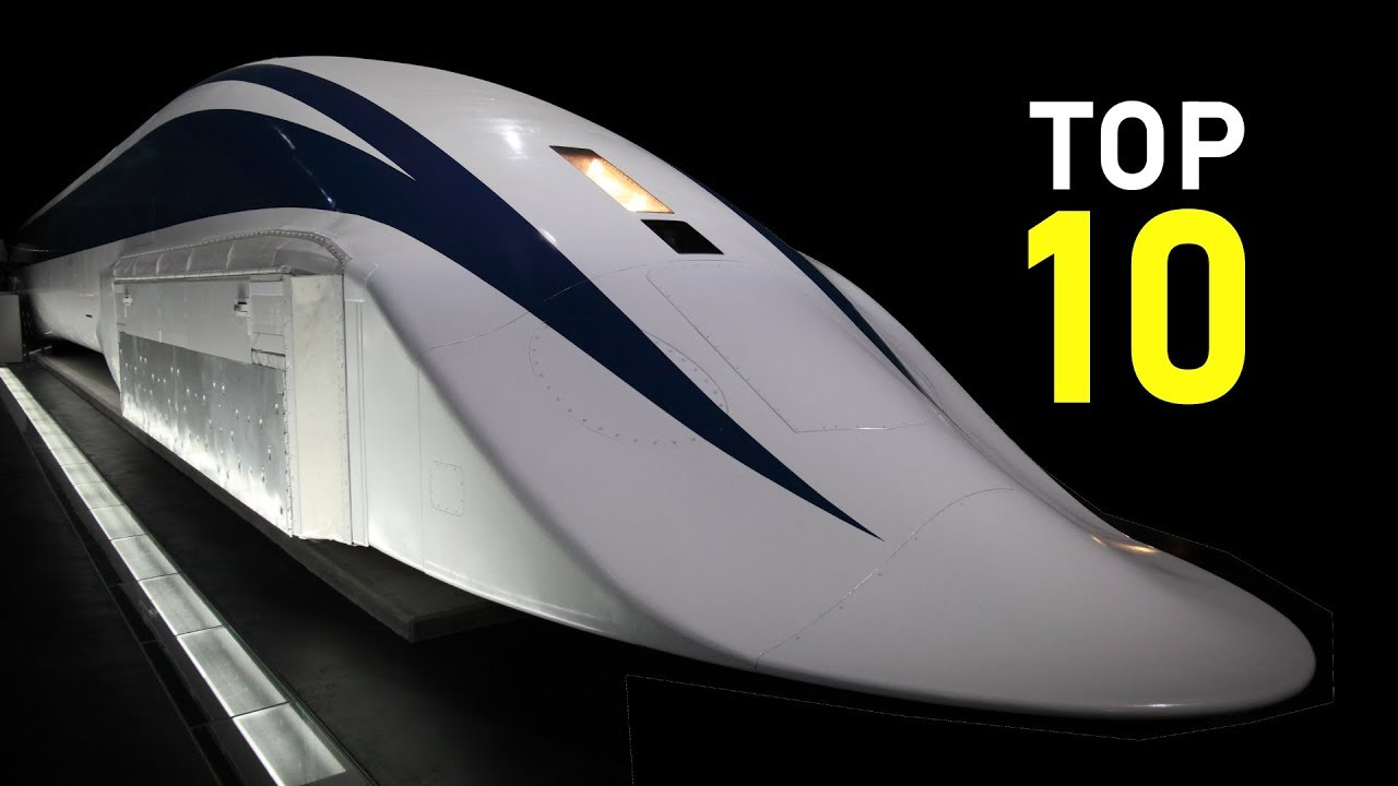 10 Fastest Trains in the World   Max speed 603 km/h (375 ...