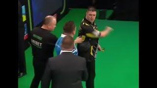 Daryl Gurney vs. Gerwyn Price Incident - 2019 PDC Premier League