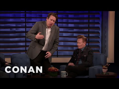 Pete Holmes: Robert De Niro Walks Like Gumby - CONAN on TBS
