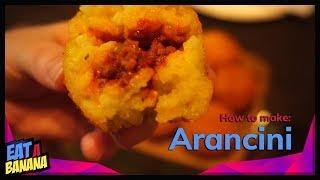 How to make: Arancini (Sizilianische Reisbällchen)