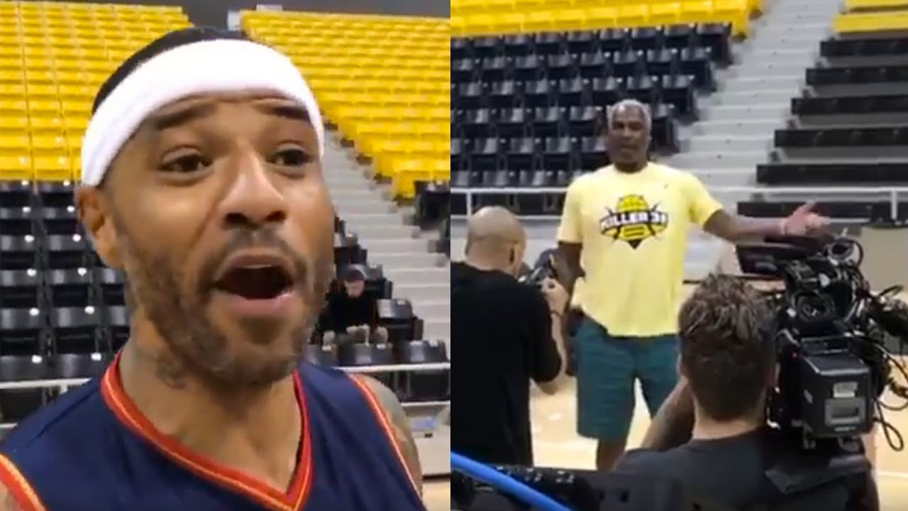 Kenyon Martin CHALLENGES Charles Oakley to 1 on 1 Tells Spectator