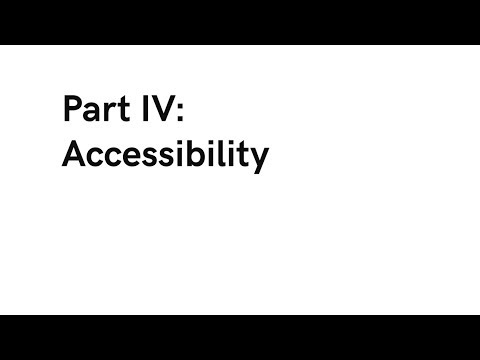 Different Issues in Computer Science: Accessibility