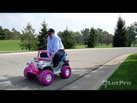 LotPro - Funny Jeep Wrangler review parody. Barbie jeep 4x4 review prank. Funniest car video ever.