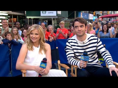 Chloe Grace Moretz, Jamie Blackley on 'If I Stay'