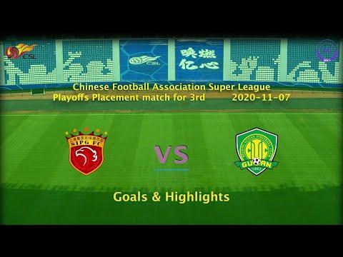 Shanghai SIPG Beijing Guoan Goals And Highlights