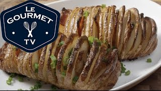 Bacon Hasselback Potatoes Recipe