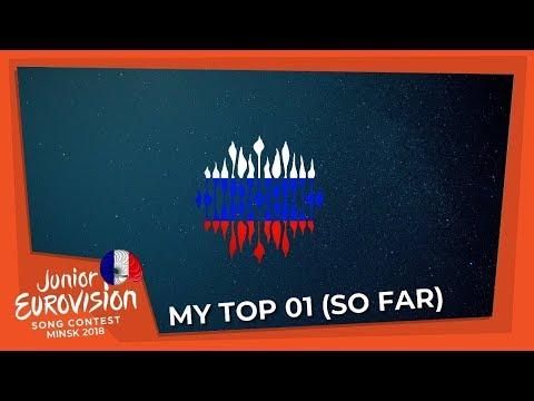 Junior Eurovision 2018 | My Top 01 (So Far) | (+Russia 🇷🇺) (+DESIGN PREVIEW)