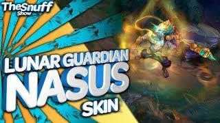 лунный Страж Насус Обзор скина - Lunar Guardian Nasus Skin - League Of Legends