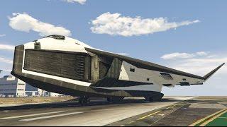 GTA V Space Shuttle from Avatar ( Valkyrie ) (MOD)