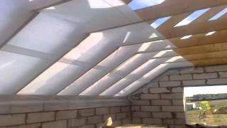УТЕПЛЕНИЕ КРЫШИ(Как правильно сделать утепление крыши дома. Способы теплоизоляции и гидроизоляции кровли. Кровельный пиро..., 2015-03-09T19:12:08.000Z)